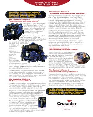 Simplicity Marine Drives - Crusader - Pricing and Options